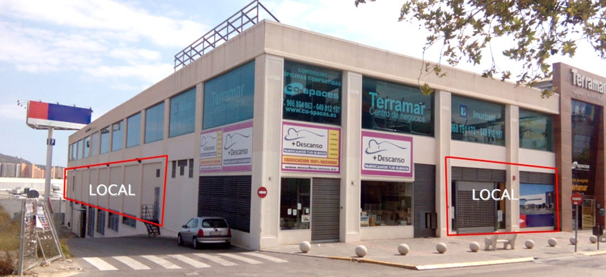 local comercial finestrat benidorm alicante